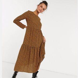 Asos Leopard Maxi Dress